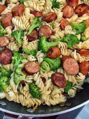 Pasta-with-Broccoli-and-Chicken-Sausage-add-pasta